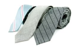 Three tie Royalty Free Stock Photo