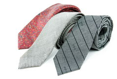 Three tie Stock Photography