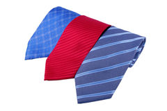 Three ties Royalty Free Stock Image
