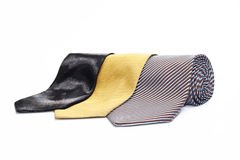 Three ties Royalty Free Stock Photography