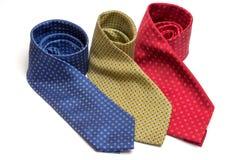 Three ties Royalty Free Stock Image