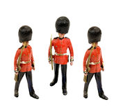 Three tin guards Royalty Free Stock Photos