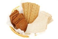 Three tipe of bread set. Stock Photo