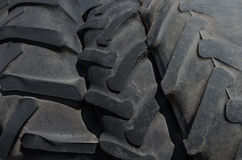 Three tires larger size Stock Photography