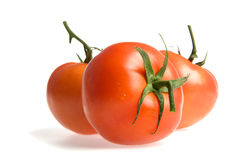 Three tomates Stock Image