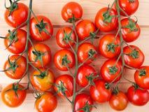 Three tomato bunches Royalty Free Stock Photo