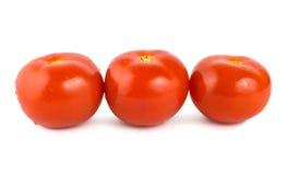Three tomato isolated Royalty Free Stock Image