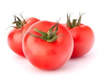 Three tomato vegetables Stock Photography