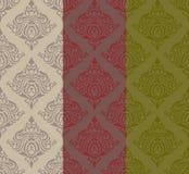 Three tone classic pattern. Illustration of three tone classic pattern Stock Photo