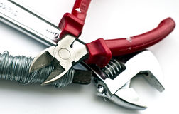 Three Tools Stock Images