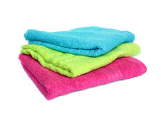 Three towels Stock Photography