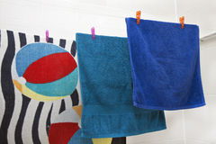 Three towels Royalty Free Stock Photography