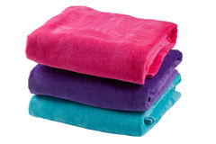 Three towels Royalty Free Stock Images