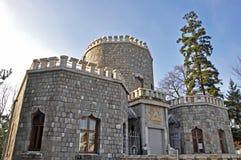 Three towers castle iulia hasdeu Royalty Free Stock Image