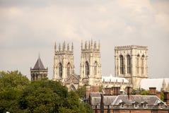 Three Towers Of York Minster Royalty Free Stock Photo