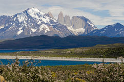 The Three Towers of Paine, Patagonia, Chile Royalty Free Stock Image