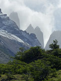 The Three Towers, Torres del Paine National Park, Chile Stock Images