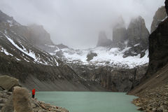 Three towers of Torres del Paine Stock Photography