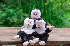 Three toy Royalty Free Stock Photography