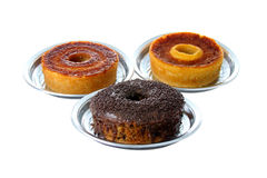 Three traditional Brazilian cakes Royalty Free Stock Images