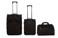Three travel bags Royalty Free Stock Image