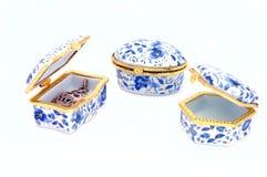 Three treasure chests Stock Image