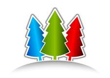 Three tree Royalty Free Stock Photo