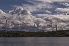 Three turbines Stock Images