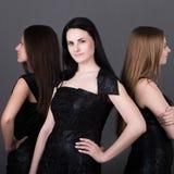 Three types of beauty Stock Photos
