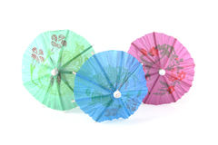 Three umbrellas Stock Photography
