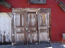 Free Three Unique Derelict Wooden Doors Stock Image - 130575551