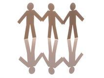 Three unity icon Stock Images