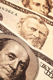 Three Usa Presidents On Cash Royalty Free Stock Images