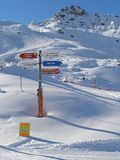 Three valley, France Royalty Free Stock Photo
