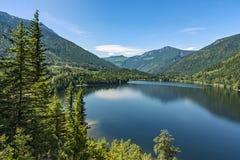 Three Valley Lake near Revelstoke British Columbia Canada Royalty Free Stock Images