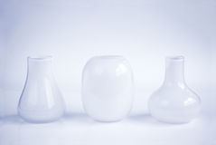 Three vases Royalty Free Stock Image