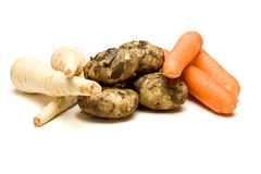 Three Veg Royalty Free Stock Images