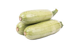 Three vegetable marrow Royalty Free Stock Image