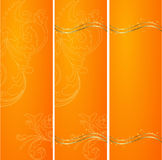 Three vertical banners Stock Photo