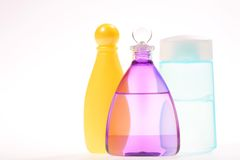 Three Vials Stock Images