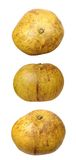 Three views of pomelo Stock Photo