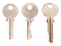 Three Vintage Keys Royalty Free Stock Image