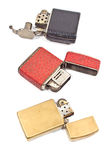 Three vintage lighter Royalty Free Stock Photos