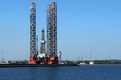 Three vortex at sea Stock Image