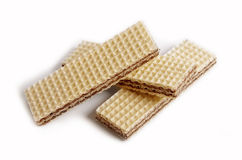 Three wafers close up Stock Photography