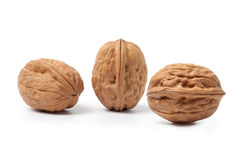 Three walnuts Royalty Free Stock Images