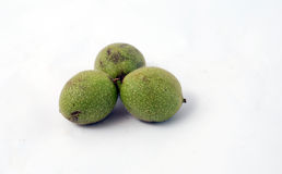 Three walnuts Royalty Free Stock Photography