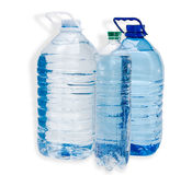Three water bottle Royalty Free Stock Images