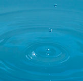 Three Waterdrops Royalty Free Stock Photos