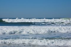 Three waves Royalty Free Stock Photography